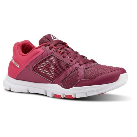 Reebok YourFlex Trainette Training Shoes Womens Twisted Berry/Twisted Pink/White (767HRZGW)