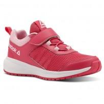 Reebok Road Supreme Running Shoes For Girls Pink/Light Pink/White (768MYPKE)