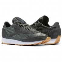 Reebok Aztec Shoes Mens Iron Stone/White-Gum (770GHQNS)