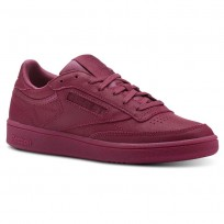 Reebok Club C 85 Shoes Womens Face-Twisted Berry/White (785KWPJV)