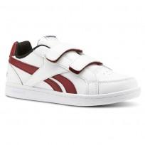 Reebok Royal Prime Shoes Kids White/Triathlon Red/Black (785RDNMC)