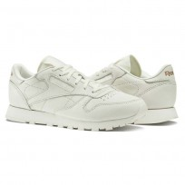 Reebok Classic Leather Shoes For Women White/Rose Gold (793BCLZQ)