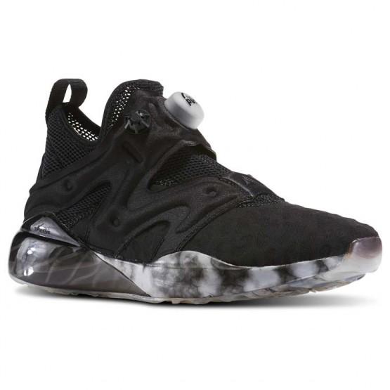 Reebok The Pump Izarre Dance Shoes For Women Black/Grey/White (798SHNXE)