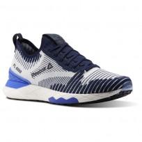 Reebok Floatride 6000 Lifestyle Shoes Mens Collegiate Navy/Acid Blue/White (799LOETV)