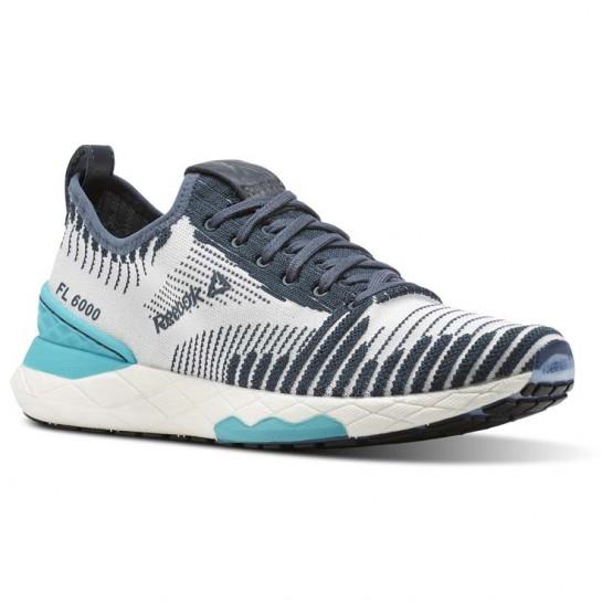 Reebok Floatride 6000 Lifestyle Shoes For Women Grey/Turquoise/White (804EKOHT)