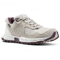 Reebok Sawcut Walking Shoes For Women Beige/Blue/Grey/Wash Purple (807OJLUZ)