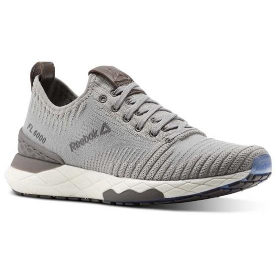 Reebok Floatride 6000 Lifestyle Shoes Womens Powder Grey/Stark Grey/Smoky Taupe/White (808BONWA)