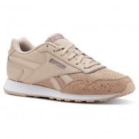 Reebok Royal Schuhe Damen Beige/Weiß (811NKLXM)