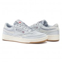 Reebok Revenge Plus Shoes For Men Grey/Red (816OFUCA)