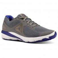 Reebok Harmony Road Running Shoes Mens Alloy/Pewter/Blue Move/White (824SQZUC)