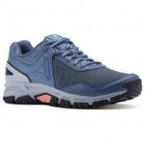 Reebok Ridgeride Trail 3.0 Walking Shoes For Women Blue/Grey/Navy (825PTOEL)