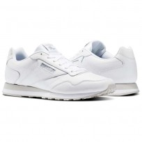 Reebok Royal Shoes Mens White/Steel (831WRTCO)