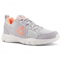 Reebok 3D FUSION TR Training Shoes Womens Cloud Grey/Digital Pink/White (835OEUSX)
