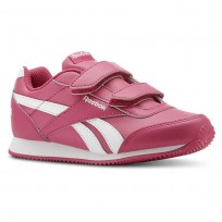 Reebok Royal Classic Jogger Shoes For Girls Pink/White (837TVEMH)