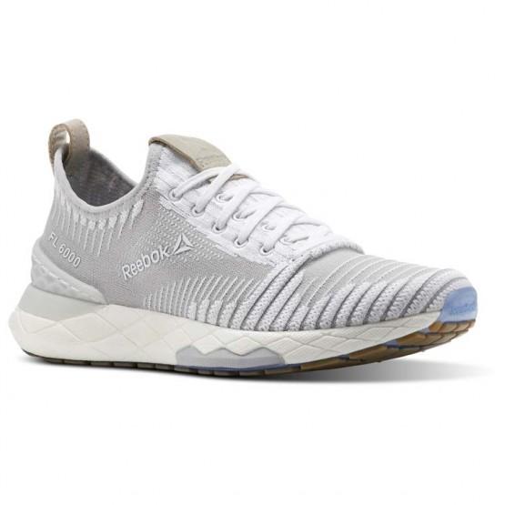 Reebok Floatride 6000 Lifestyle Shoes For Women White/Grey (839JTRCB)