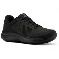 Reebok Walk Ultra 6 DMX MAX RG Walking Shoes For Men Black (841GHPJR)