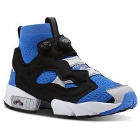 Reebok InstaPump Fury Shoes For Men Blue/Grey/Red (844NADRV)