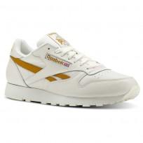 Reebok Classic Leather Schuhe Herren Khaki (849XEGHM)