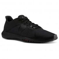 Reebok Flexagon Training Shoes For Men Black/White/Red (864QWNSP)