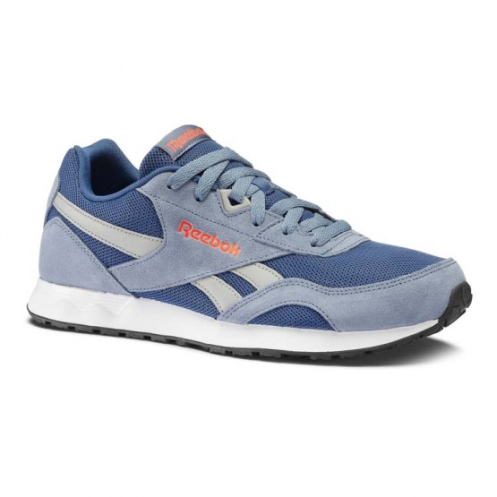 Reebok Royal Connect Shoes Mens Hs-Blue Slate/Bunker Blue/Tin Gry/Red/Blk/Wht (868NPVKQ)