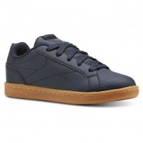 Reebok Royal Complete Shoes For Boys Navy/Deep Grey (877NGJMR)