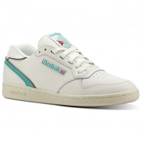 Reebok ACT 300 Shoes Mens Chalk/Paperwhite/Shark/Teal Energy (877WSXJP)