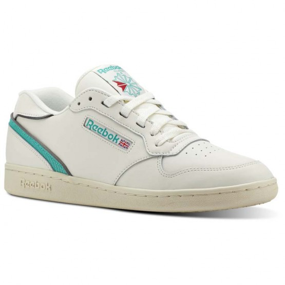 Reebok ACT 300 Shoes For Men White/Turquoise (877WSXJP)