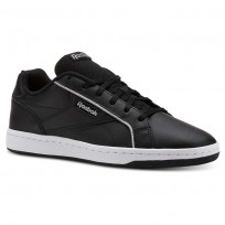 Reebok Royal Shoes For Women Black/White/Silver (882NTHVB)