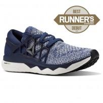 Scarpe Running Reebok Floatride Run Uomo Blu Marino/Lavaggio Blu/Grigie (885ODECH)