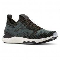 Reebok Floatride 6000 Lifestyle Shoes Mens Chalk Green/Coal (887KWHDN)
