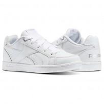 Reebok Royal Prime Shoes Kids White/Silver (889SNPET)