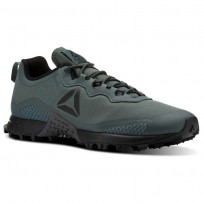 Reebok All Terrain Running Shoes Mens Chalk Grey/Black/Ash Grey (890XRNCS)