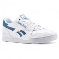 Reebok Phase 1 Pro Shoes For Men White (891UVMLH)
