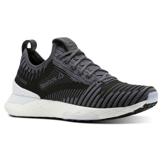 Reebok Floatride 6000 Lifestyle Shoes For Women Black/Grey/White (892UFYNG)