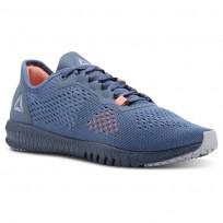 Reebok Flexagon Training Shoes Womens Blue Slate/Cloud Grey/Digital Pink (894PNYGE)
