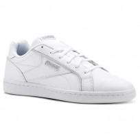 Reebok Royal Shoes For Women White/Silver (894UEJCL)