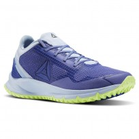 Reebok All Terrain Running Shoes Womens Lilac Shadow/Frsh Blue/Electric Flash (901YFPQK)