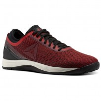 Reebok CrossFit Nano Shoes Mens Primal Red/Urban Maroon/Chalk/Black (904RHTKE)