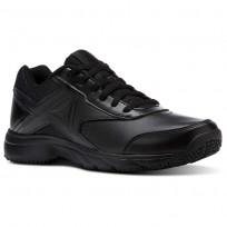 Reebok Walk Walking Shoes For Women Black (907GIQJT)