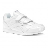 Reebok Royal Classic Jogger Shoes For Girls White/Silver (908SAUWG)