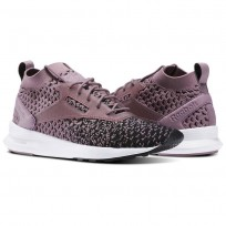 Reebok Zoku Runner Shoes Womens Black/Blue Lagoon/White/Silver (908TRMXZ)