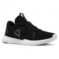 Reebok Reago Training Shoes Womens Black/Alloy/Field Tan/White (909YRKEV)