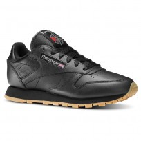 Reebok Classic Leather Shoes For Women Black (919RSKFA)