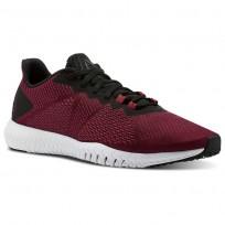 Reebok Flexagon Training Shoes For Men Black/Red/White (920BAQJP)