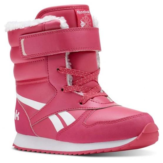 Reebok CL SNOW JOGGER Shoes For Girls Pink/White/Light Pink (922EBQXI)