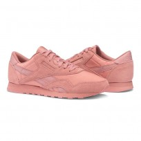 Reebok Classic Nylon Shoes Womens Sandy Rose (923TNEAV)