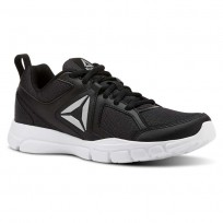 Reebok 3D FUSION TR Training Shoes Womens Black/Silver/White (925LFWNH)
