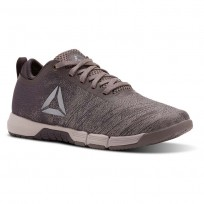 Reebok Speed Training Shoes Womens Face-Almost Gry/Smokyvolcano/Whspr Gry/Violet (928BOQKG)