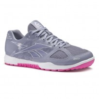 Chaussure Reebok CrossFit Nano Femme Violette/Blanche/Rose (928QOAUT)