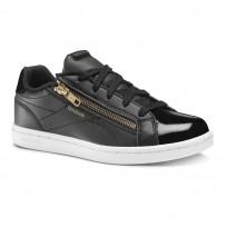 Reebok Royal Complete Shoes For Girls Black/Gold (929BHRGV)